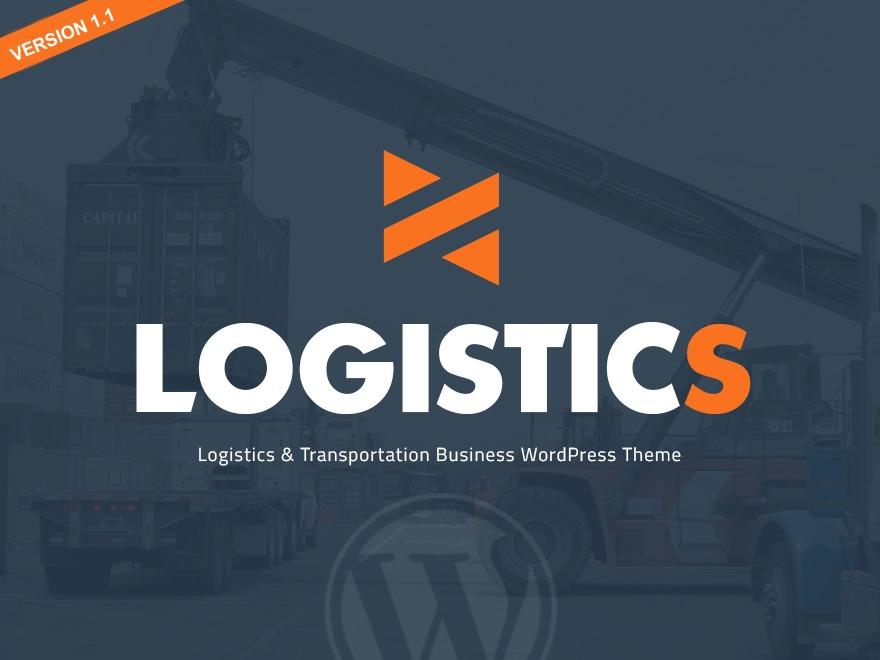 Logistics Theme WordPress theme