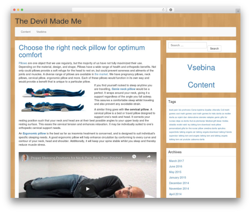 Template WordPress LineDay - thedevilmademe.net