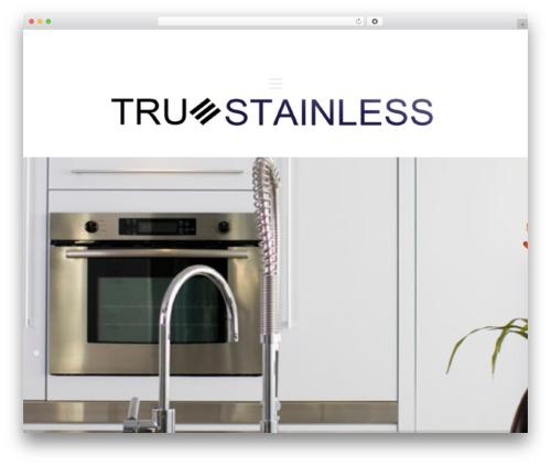 Theme WordPress Architekt - truestainless.ca