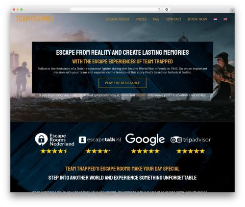 Theme WordPress Moonrise - teamtrapped.com