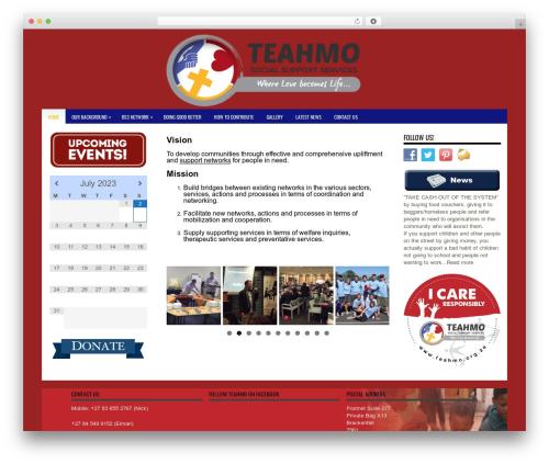 Vivo WordPress theme - teahmo.org.za