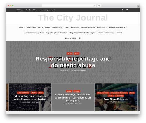 Free WordPress Meks Smart Social Widget plugin - thecityjournal.net
