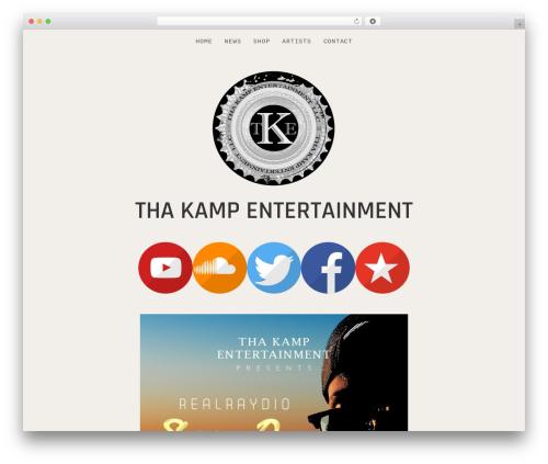 WordPress theme Encore - thakampent.com