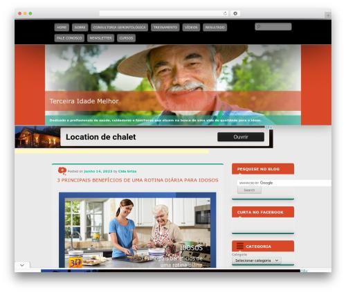 WordPress website template Wallpapered - terceiraidademelhor.com.br
