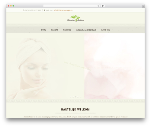 WP template Dream Spa - thaisemassage.eu