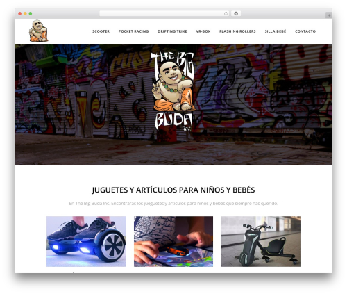 Bridge theme WordPress - thebigbuda.com