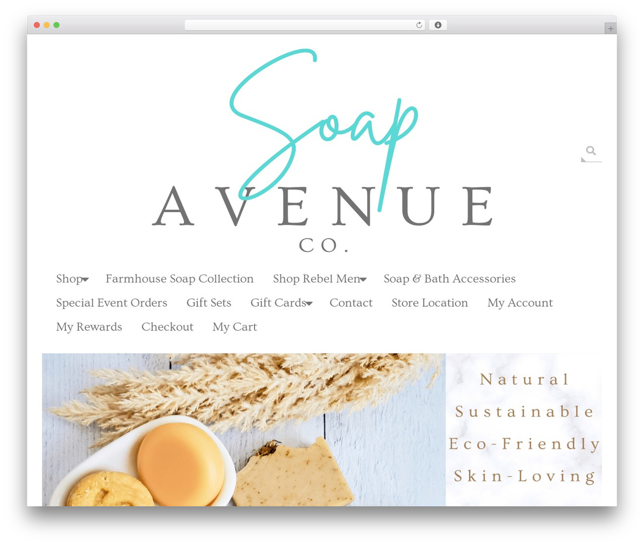 Brigsby Premium WordPress template for business - soapavenuecompany.com