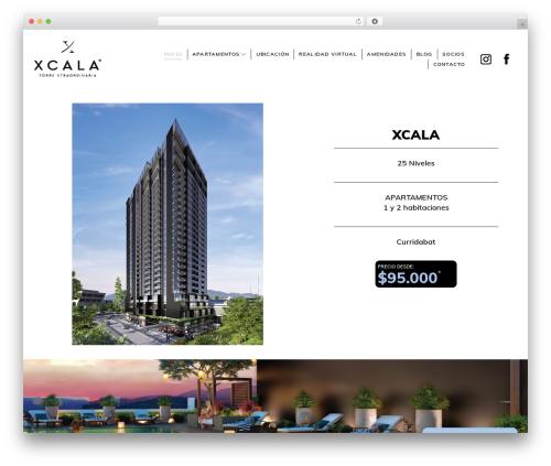 HotelBliss best hotel WordPress theme - xcalacr.com