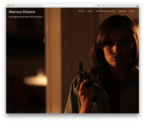 Sydney WordPress theme download - marissapistone.com