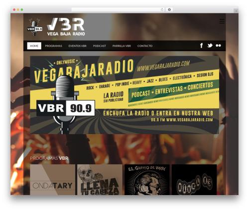 SoundWave | Shared By Themes24x7.com WordPress website template - vegabajaradio.com