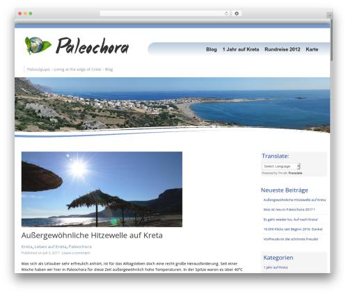 Template WordPress Longevity - palaioxora.com