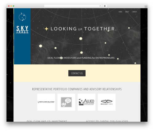 Theme WordPress Divi - sky-trace.com