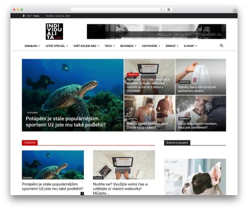 Newspaper newspaper WordPress theme - individualita.com