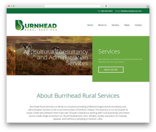 WebsiteNI Theme WordPress theme - burnheadrural.com