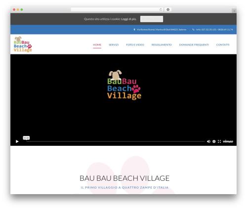 Best WordPress theme Paradise - baubaubeachvillage.com