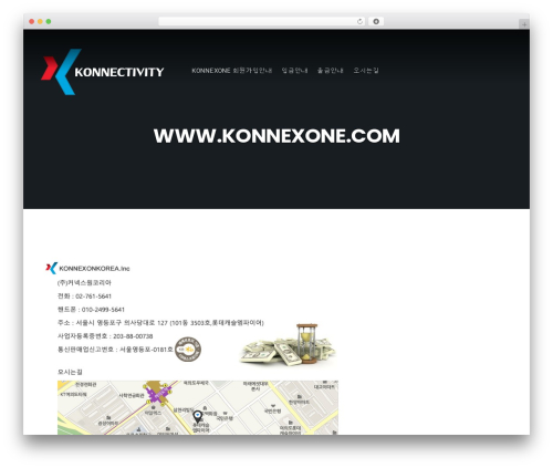 Businessx template WordPress free - konnexone-kr.com