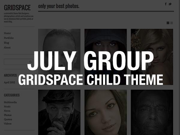 Gridspace Child best WordPress theme