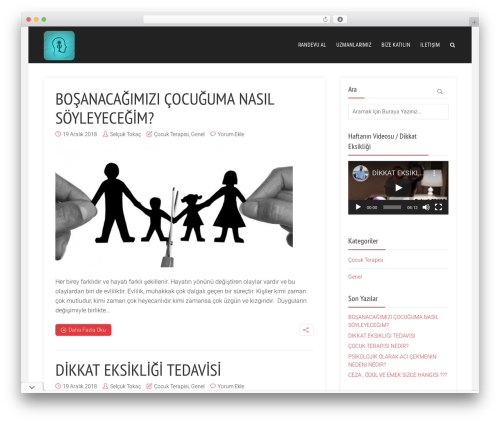 Throne best WordPress theme - cocukpsikologunuz.com