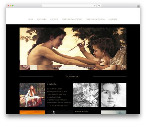 WordPress theme Bridge - quinteropuentes.com