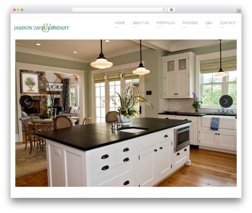 Arkitekt WordPress theme - jamisondaviscompany.com