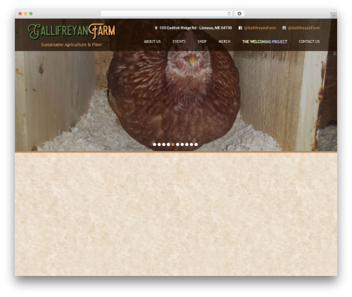 Coffee Pro WordPress page template - gallifreyanfarm.com