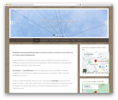 Natural Lite WordPress template free download - oxfordtherapy.com