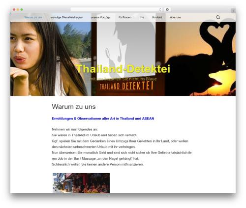 Twenty Thirteen WordPress template - thailand-detektei.com