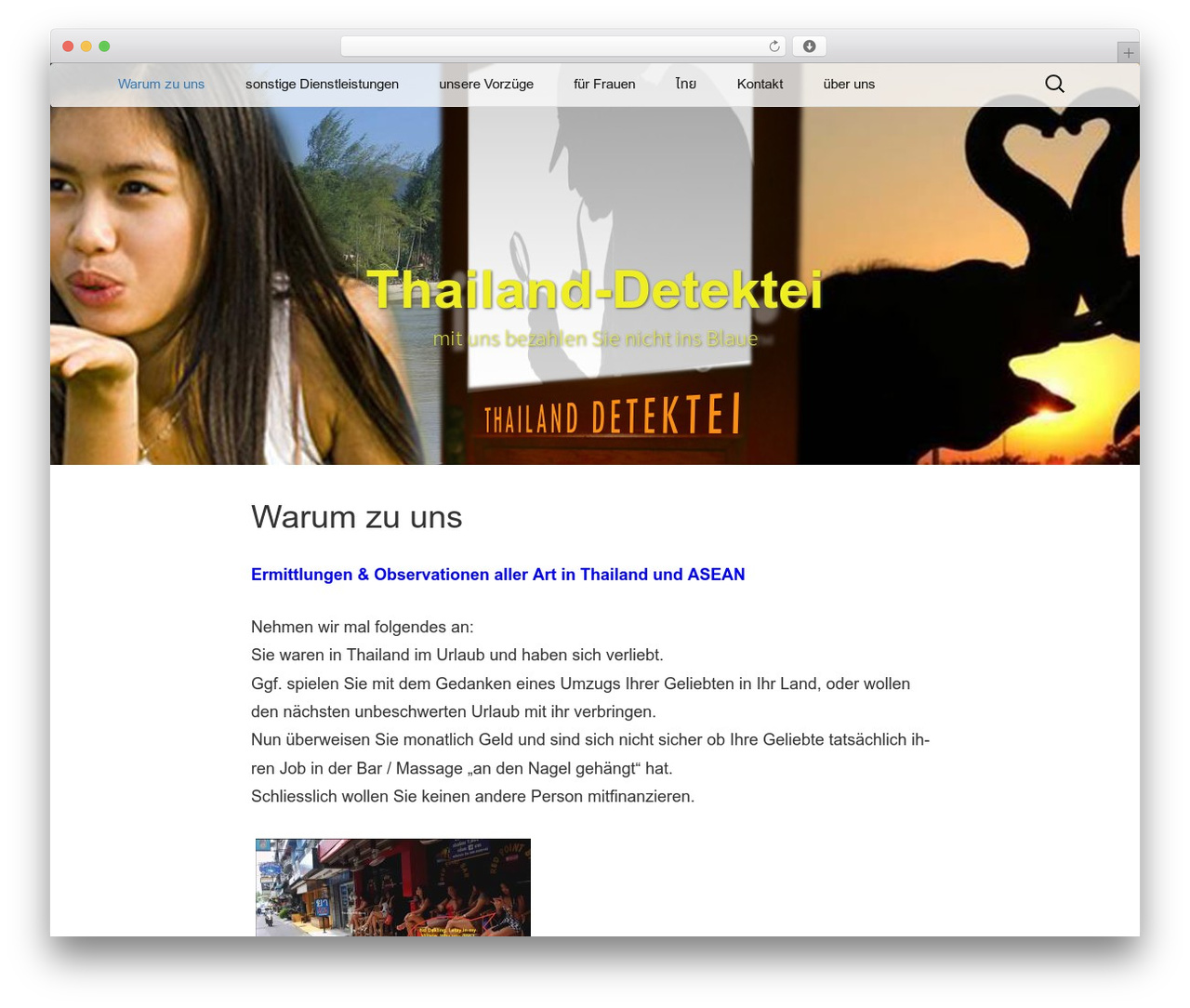 Twenty Thirteen WordPress template - thailand-detektei.com