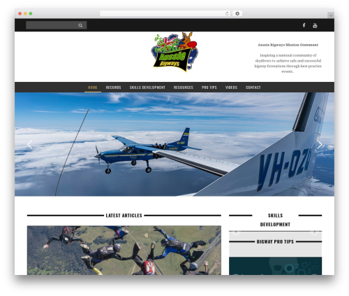 WordPress theme Yorkpress - aussiebigways.com