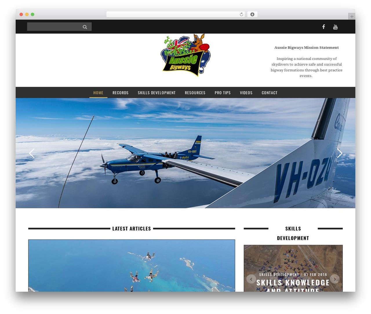 WordPress theme Yorkpress - aussiebigways.com