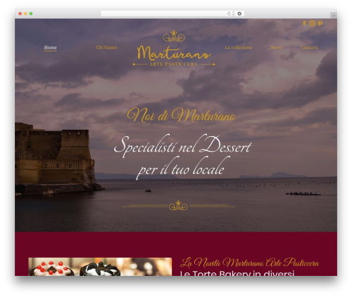 The7 WordPress theme - marturanopasticceria.com