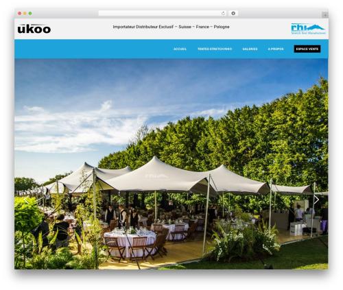 WordPress website template Betheme - ukoo-group.com