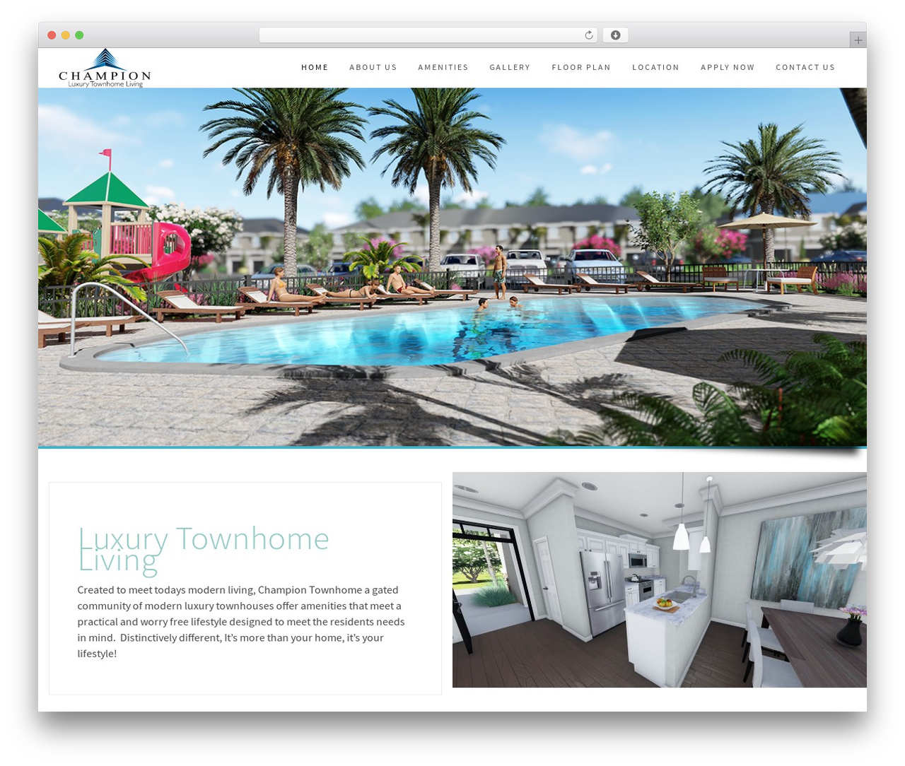 Wp Haswell WordPress theme - championtownhome.com