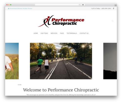 Chester WordPress theme - omahaperformancechiro.com