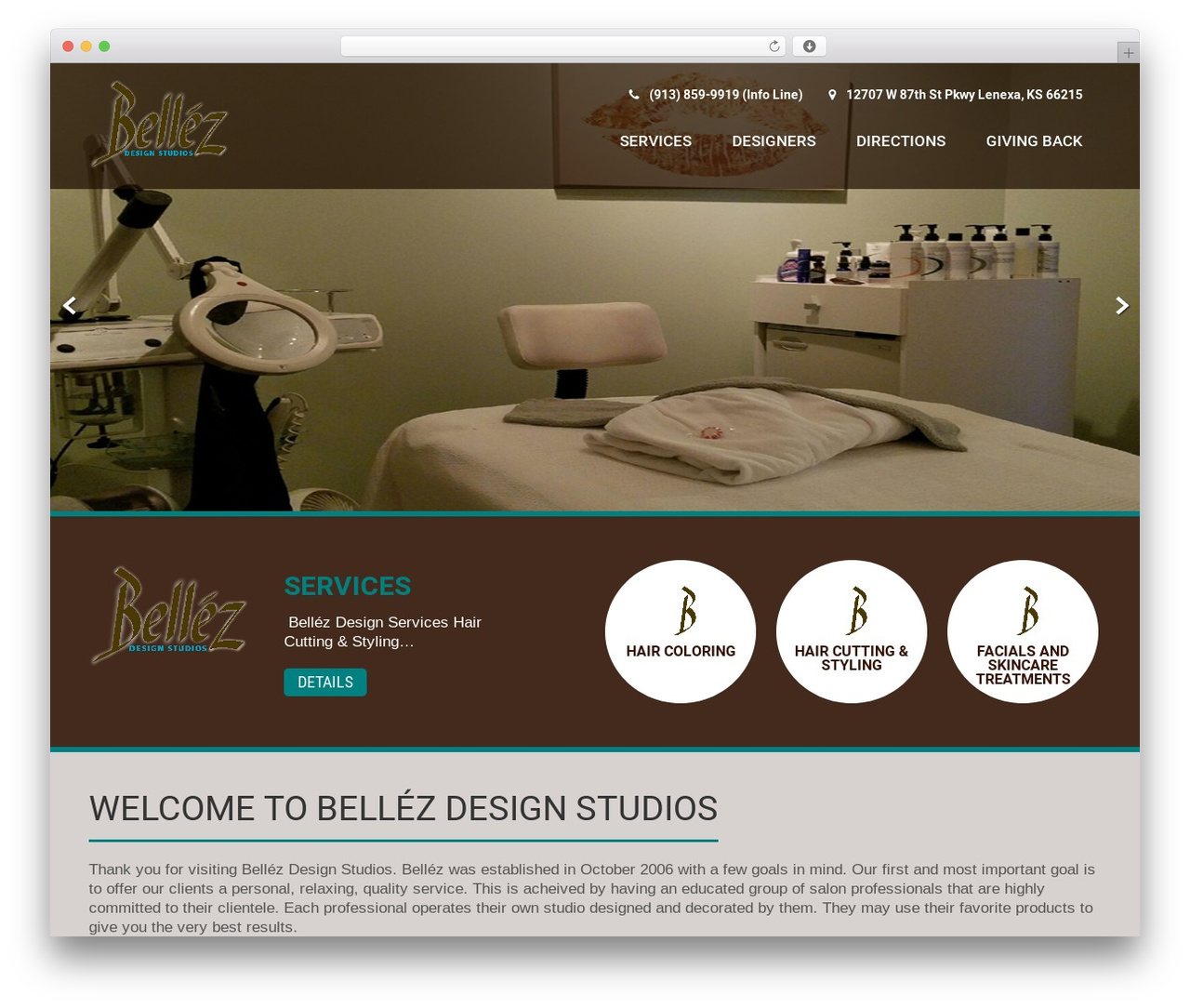 Coffee Pro WordPress theme - bellezdesignstudios.com