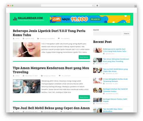Template WordPress ktz freak - halalmedan.com