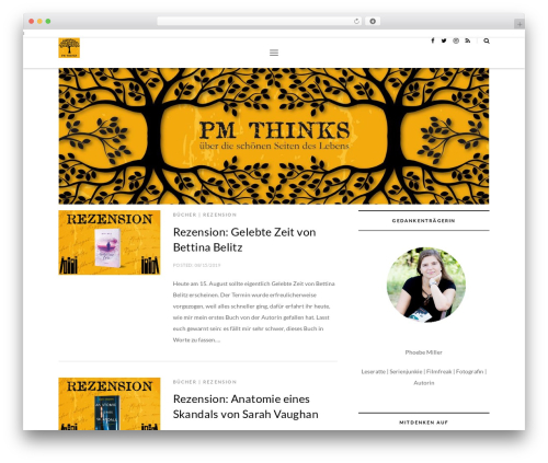 WordPress theme Brooklyn - pm-thinks.com