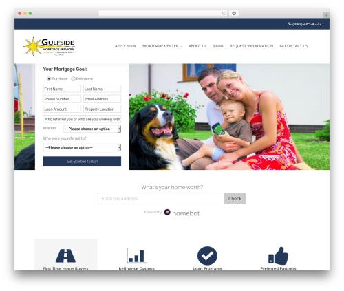 WordPress theme Chester - gulfsidemortgageservices.com