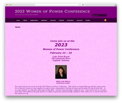 WordPress theme Suco - womenofpower2009.com