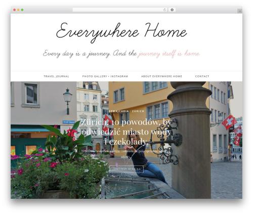 Oleander WordPress travel theme - everywhere-home.com