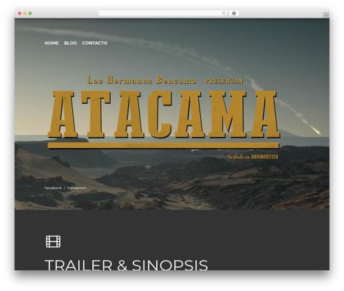 Theme WordPress Cabana - historiasdeatacama.com