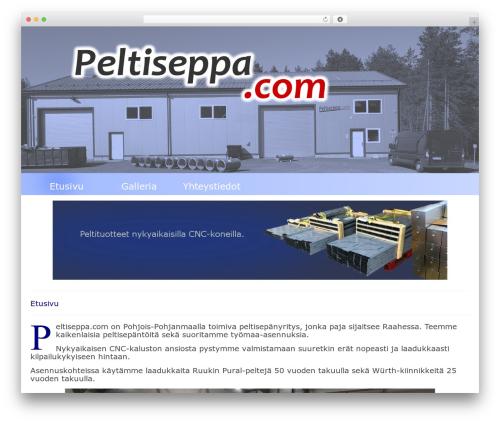 Virtue best WordPress theme - peltiseppa.com