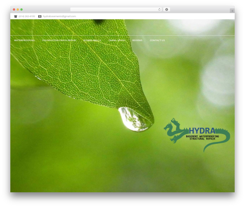 WordPress template Jupiter - hydrabasement.com