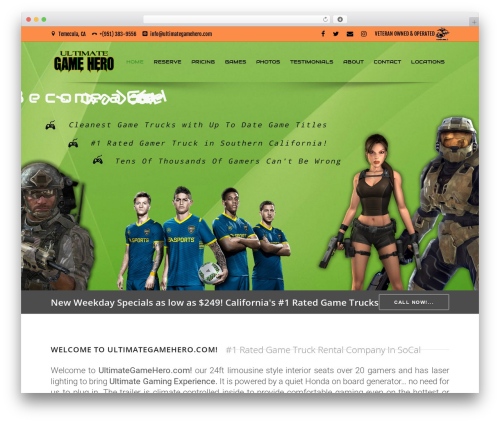 WordPress theme Specular - ultimategamehero.com
