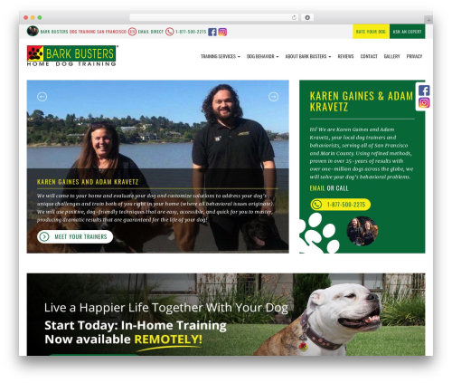 Theme WordPress bigdogbroadcast2 - dogtraining-sanfrancisco.com