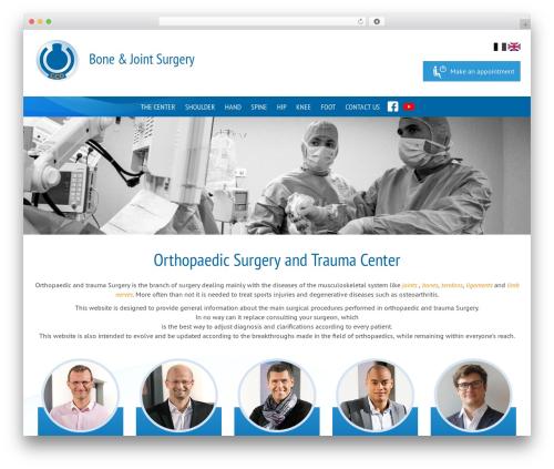 Theme WordPress Theme BMS - bone-joint-surgery.com