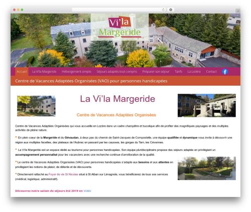 WordPress theme Theme BMS - vila-margeride.com