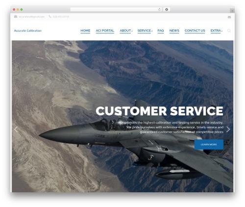 Qaro WordPress theme - accuratecalibrationind.com