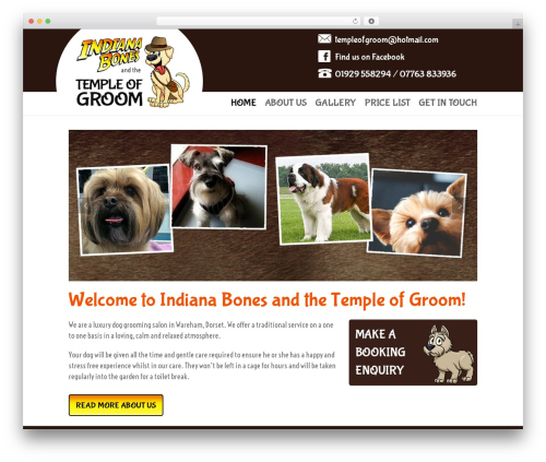 3clicks Theme top WordPress theme - templeofgroom.co.uk