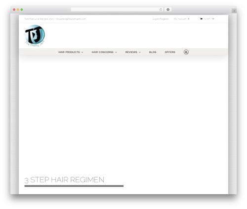 Avada WordPress page template - theprettyjerk.com
